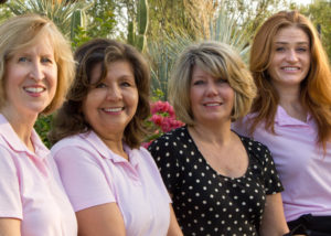 Desert Ridge dentist Dr. Elizabeth Fleming and dental team