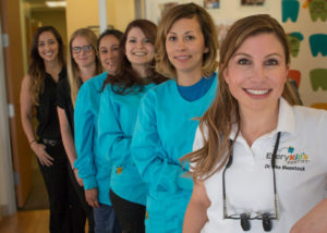 Pediatric dentist Dr. Lisa Beinstock and her team
