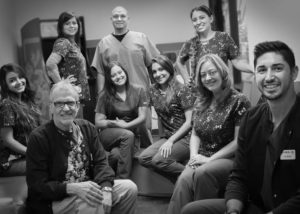 North Phoenix Pediatric Dentistry black and white team photo