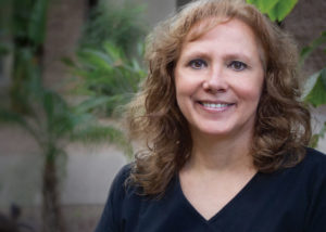 Portrait photo of Phoenix dentist Dr. Rebecca Griffiths