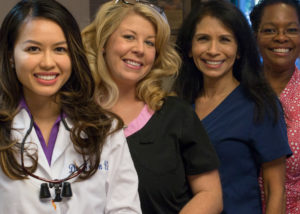 Phoenix dentist Dr. Tram Vu and her team