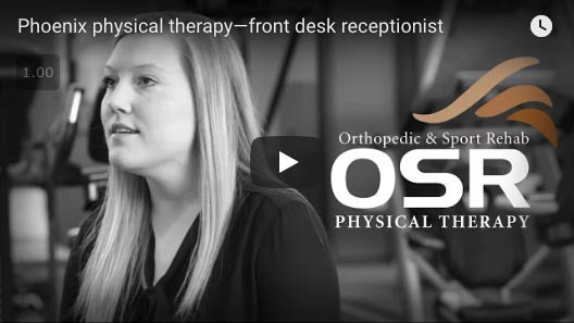 osr physical therapy front desk employee